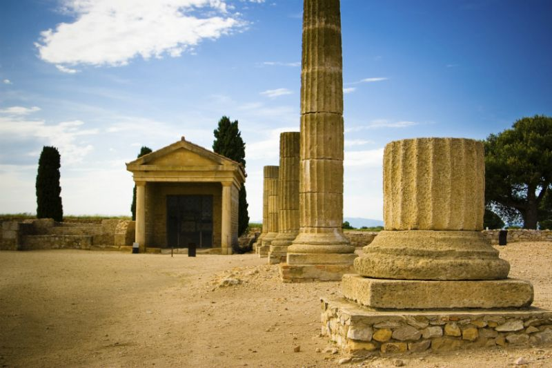 Ancient City of Empuries, L'Escala, Costa Brava.