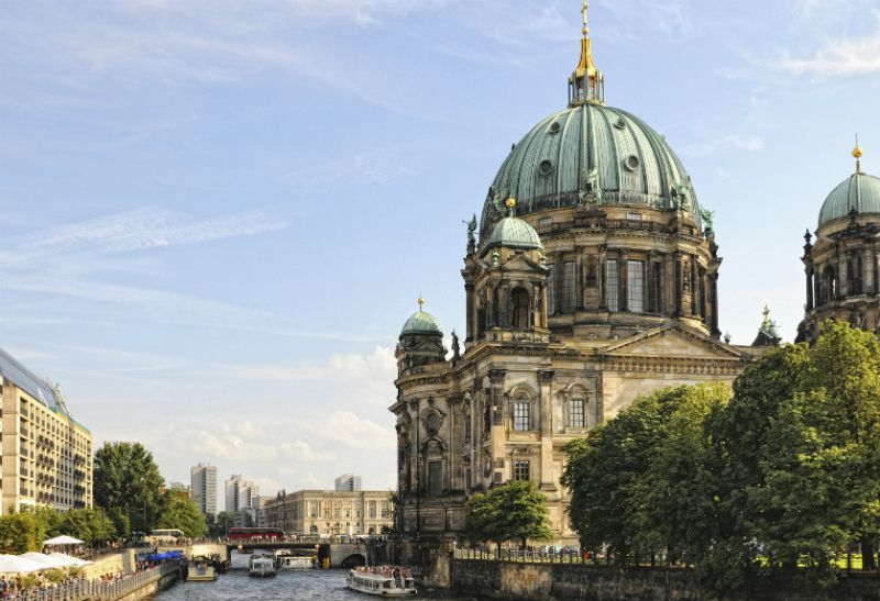Berlin Cathedral, East Berlin, Germany