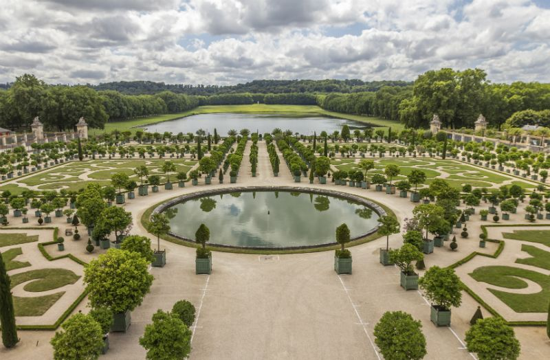 Gardens at the Palace of Versailles, Paris