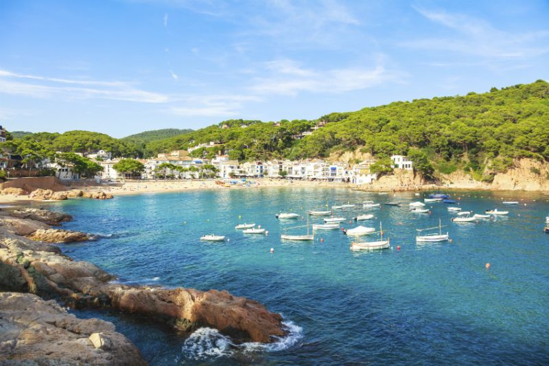 Tamariu village on the Costa Brava (Catalonia Spain)