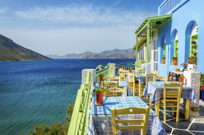 Seafront restaurant in Kos