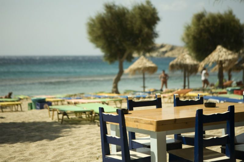 Taverna on the beach
