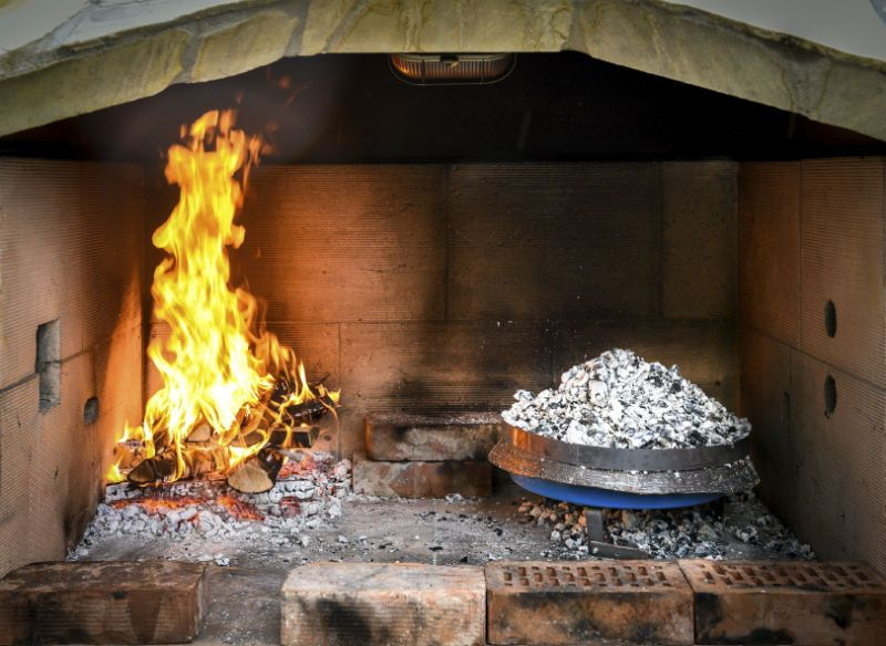 Traditional Greek oven