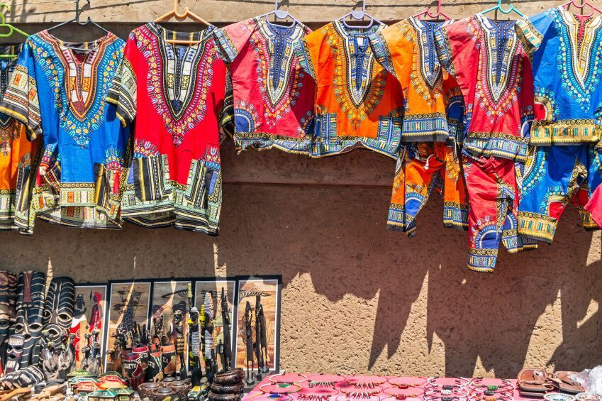 African Curios & Clothes - Soweto