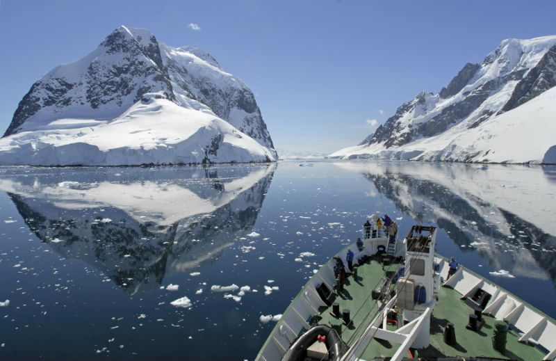 An Antarctic cruise.