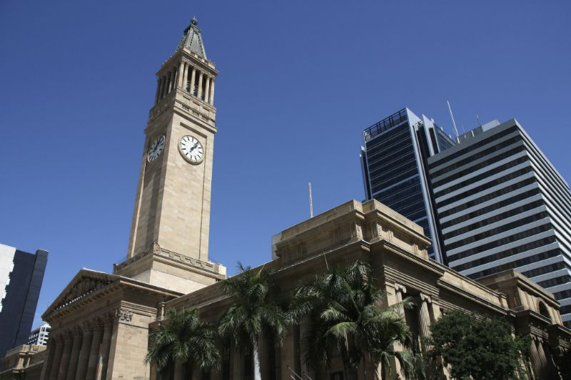 Brisbane City Hall, Parliament House, and Commissariat Store, Australia