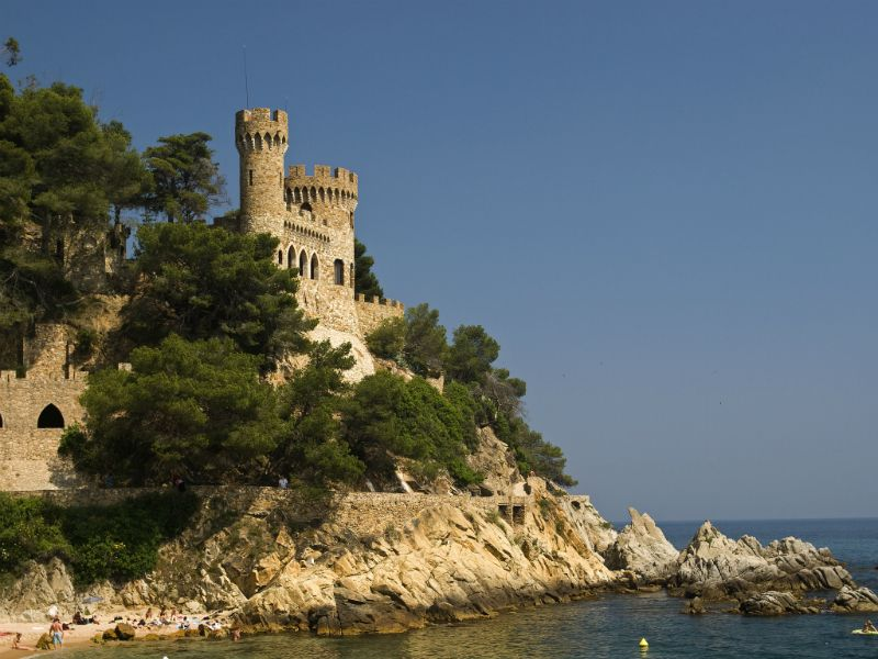 Castle, Lloret de Mar, Spain