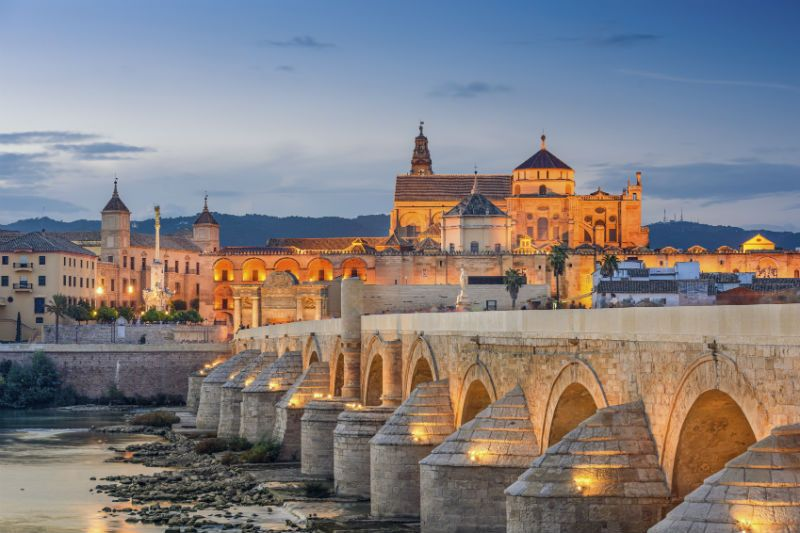 Bridge in Cordoba, Spain