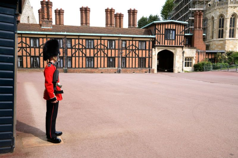 Guard in the Grounds of Windsor Castle, United Kingdom
