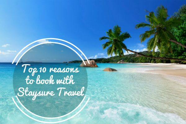 Ten Great Reasons to Book your Holiday with Staysure
