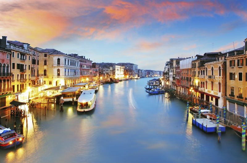 Venice in Italy is a popular European cruise destination.