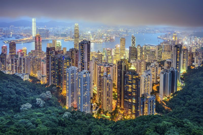 View from Victoria Peak Hong Kong
