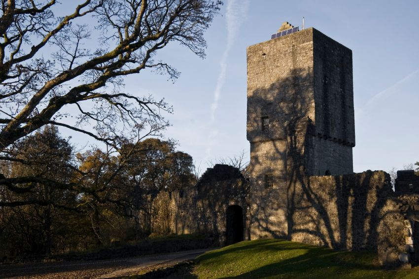 Mugdock castle, Scotland