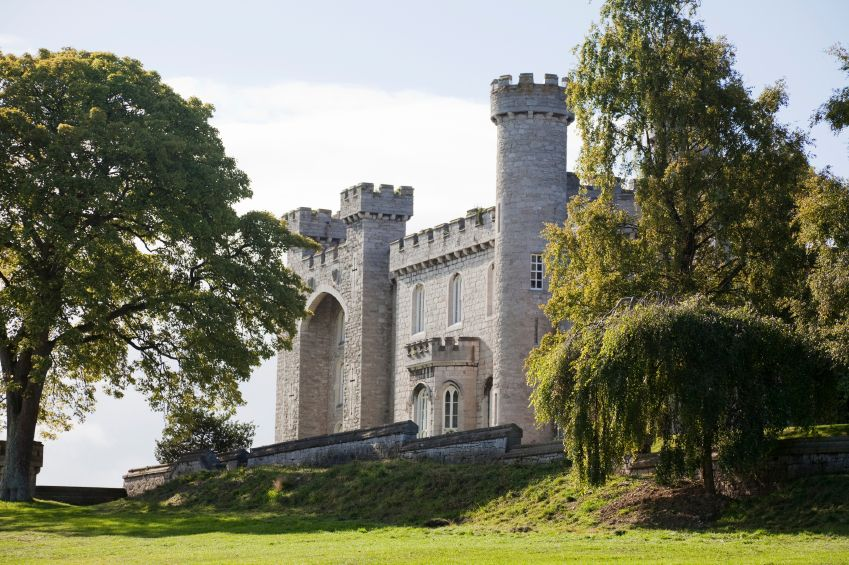 Bodelwyddan castle and park, Wales
