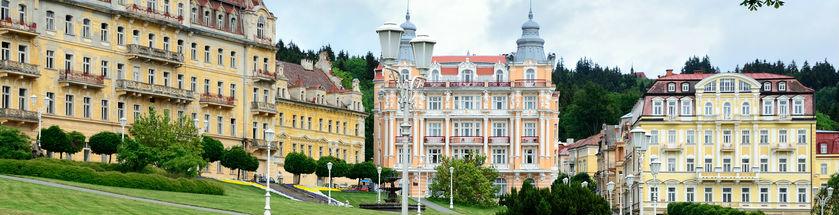 Quaint houses in Czech Republic