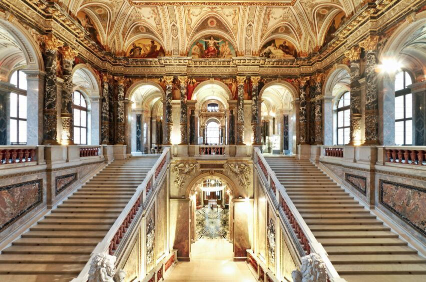 Kunsthisthorisches museum staircase – Vienna