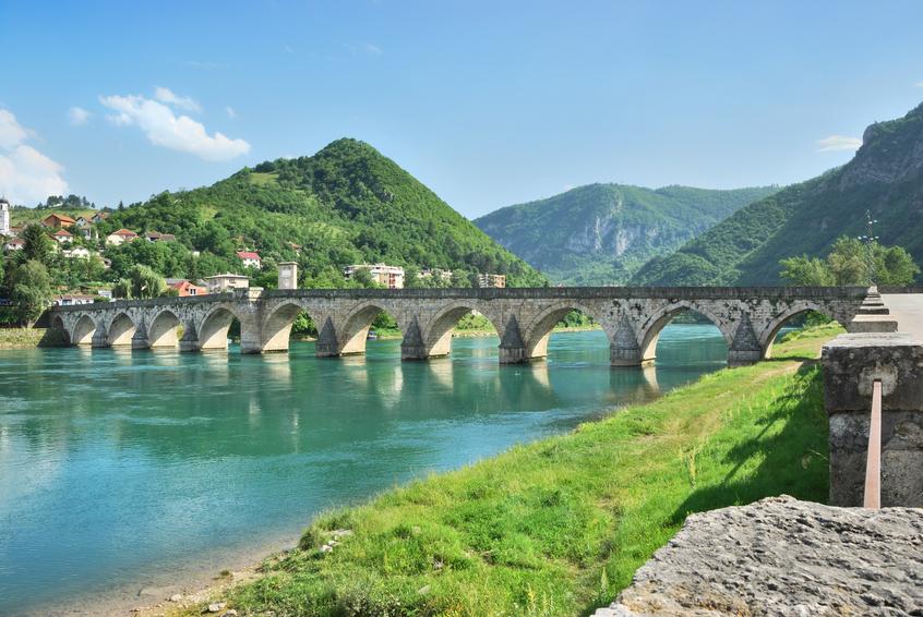 Bridge on Drina Bosnia