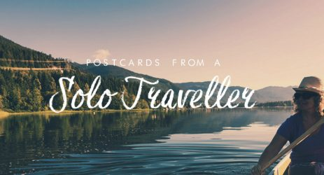 Postcards from a solo traveller