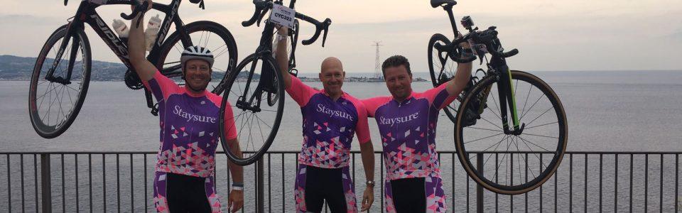 Team Staysure - bikes