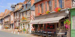 Houses of Beauvron-en-Auge