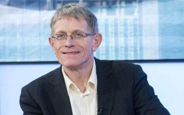 Simon Calder smiling