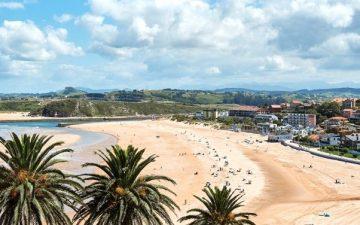 beach of Suances, Cantabria, Spain