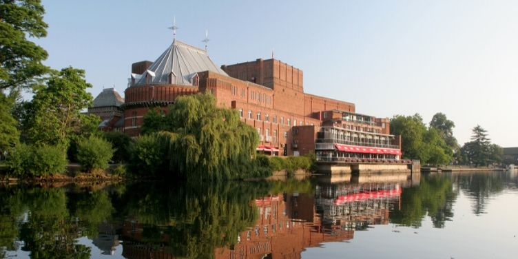 The RSC on the River Avon in Stratford upon Avon