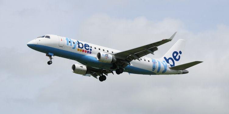flybe plane in flight